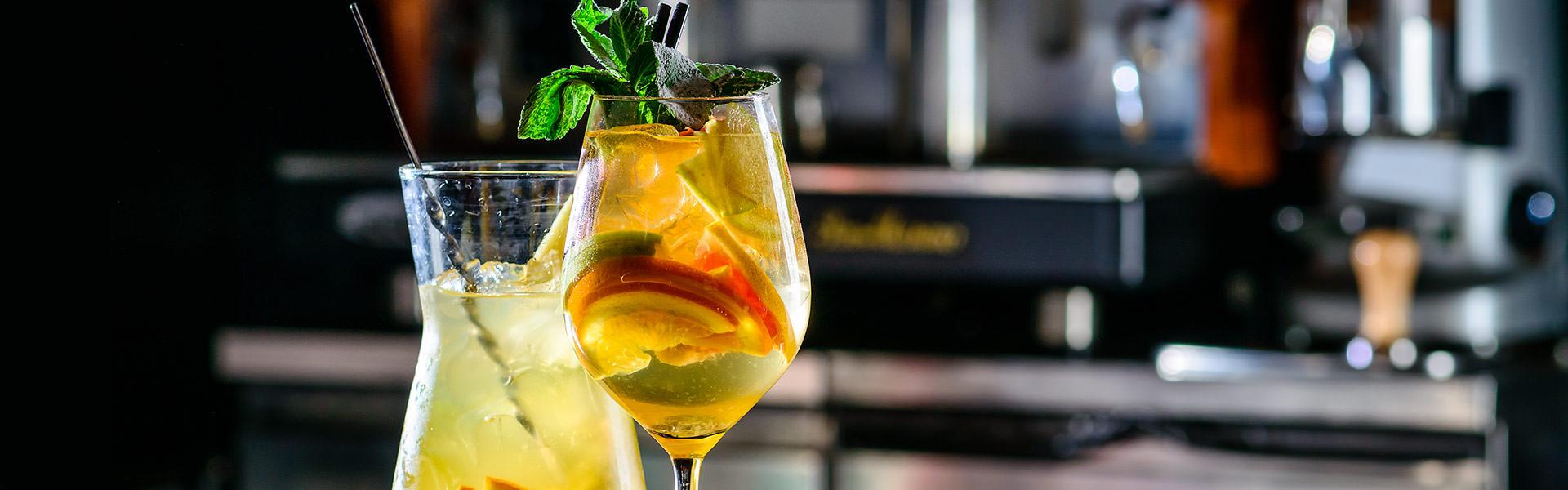 Cocktail Sangria Blanca