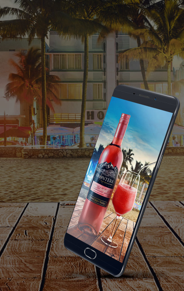Frontera Wine AR Mobile