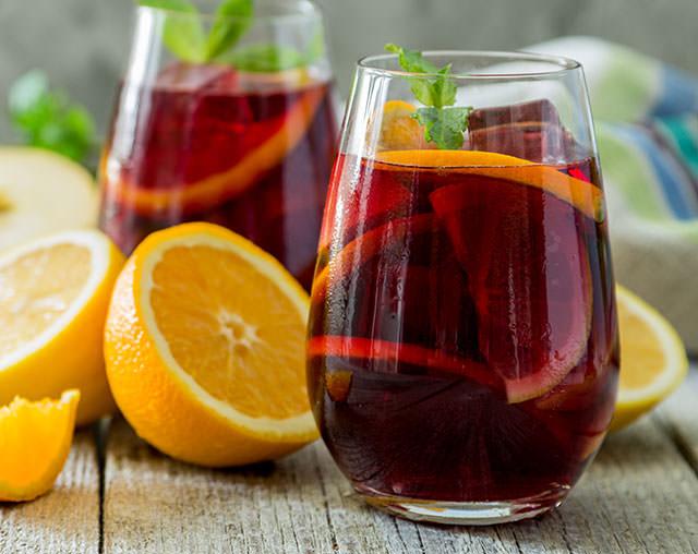 Mobile Cocktail Sangria