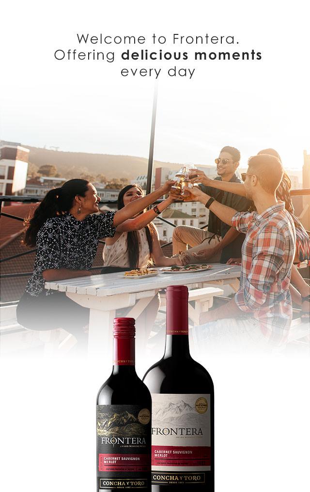 Frontera Wine Familia Mobile